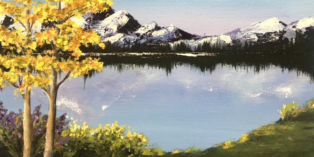 Online painting party