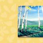 Aspen Tree Live Online Painting Class